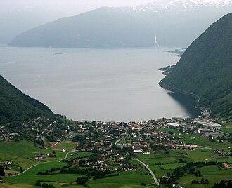 Vik - View of Vikøyri