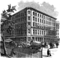 View of the 'Scientific American' Office, New York (Scientific American, volume 14, issue 32).png