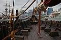 "Vikings - 25299160773 Jorgen Jorgenson Gokstad viking ship reconstruction - Swedish History Museum–MuseumsPartner exhibition ""Vikings Beyond the legend"" Australian National Maritime Museum Sydney 2013.jpg"