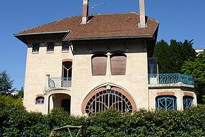 Émile André - Villa Les Glycines, Nancy.