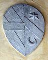 Villa il palagio di san casciano, cortile, stemma corsini-miniati.JPG