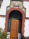 villa in overgangsstijl met art nouveau-elementen ca 1905 - 2