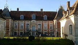 The chateau in Villemereuil
