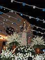 Virgen del Rosario al salir.JPG