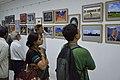 Visitors At Inaugural Day - 45th PAD Group Exhibition - Kolkata 2019-06-01 1281.JPG