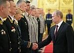 Vladimir Putin and Elena Knyazeva (2012).jpg