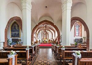 Vytautas' the Great Church - Church interior