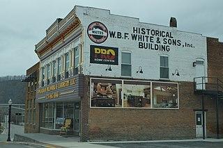 Richlands Historic District (Richlands, Virginia) historic district in Virginia, USA