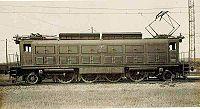 Locomotiva Wintenthur-Brown Boveri fornecida em 1929 a Companhia Paulista, com rodagem 1-D-1 e potência 2520 (HP).