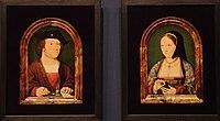 WLANL - karinvogt - Joos van Cleve, portret van onbekende man en portret van onbekende vrouw.jpg