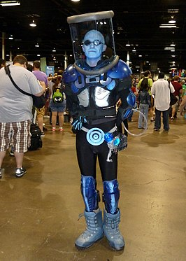 Cosplayer als Mr. Freeze tijdens Wizard World Chicago 2012.