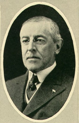 The war to end war - Woodrow Wilson, the U.S. President, with whom the phrase is often associated