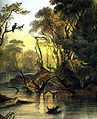 Wabash River near New Harmony 1832 - 1833 by Karl Bodmer.jpg