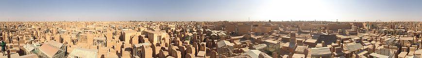 360° view of Wadi as-Salaam in Najaf