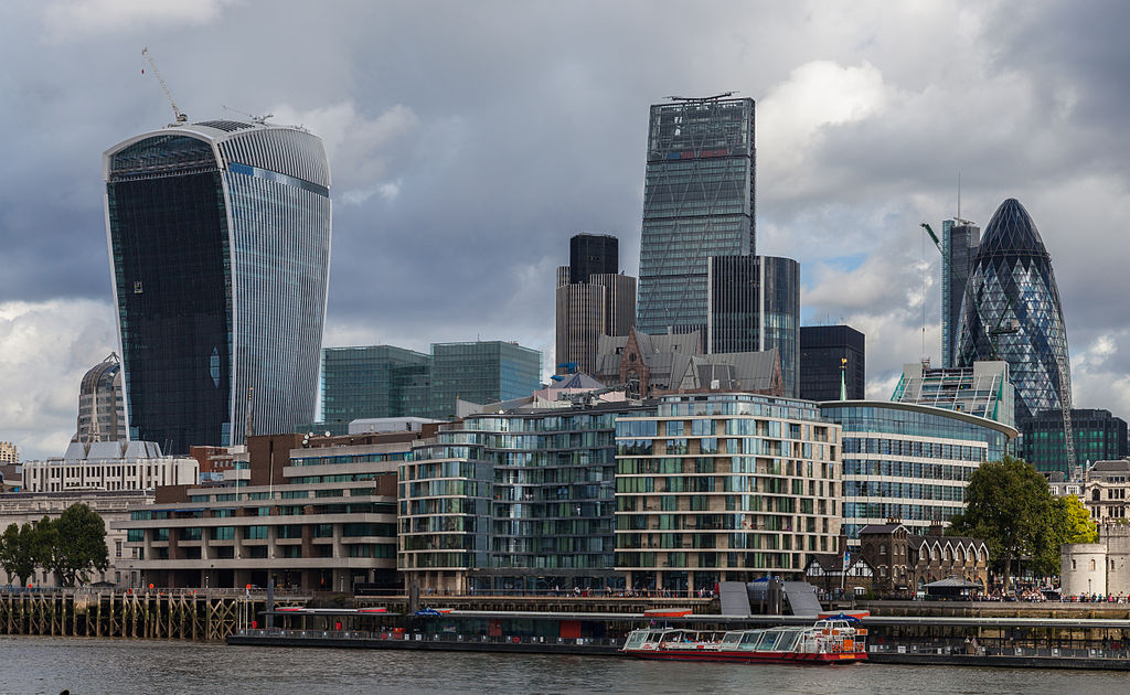 File Walkie Talkie Edificio Leadenhall Y Gherkin Londres