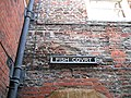 Wall and sign, Fish Court, Hampton Court Palace - geograph.org.uk - 1107551.jpg