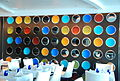 Wall decor -- Blu Restaurant aboard the Celebrity Equinox (6857581477).jpg