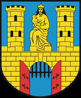 Burg bei Magdeburg - Image: Wappen Burg (bei Magdeburg)