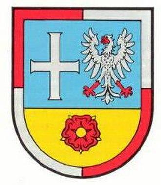 Rhein-Pfalz-Kreis - Image: Wappen vg dann scha