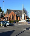 War memorial and Methodist Church - geograph.org.uk - 620677.jpg