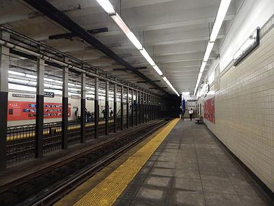 Warren Street/NJIT station
