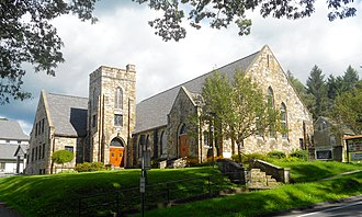 Warriors Mark Township, Huntingdon County, Pennsylvania - Image: Warriors Mark PA United Methodist