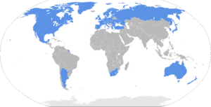 Wassenaar Arrangement - Participating states of the Wassenaar Arrangement