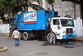 Waste collection truck in the Philippines.jpg
