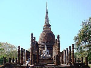 Prowincja Sukhothai: Wat Sa Si, Sukhothai, Thailand