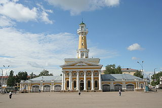 City in Kostroma Oblast, Russia