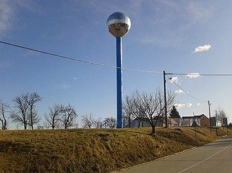 Štrigova - Image: Water tower in the village of Sveti Urban