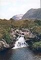 Waterfall on the Allt nan Lub - geograph.org.uk - 354099.jpg