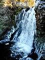 Waterfall on the Brock Burn (geograph 6041577).jpg