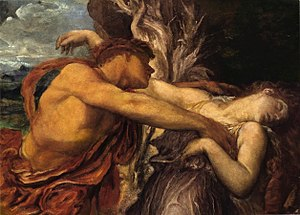 English: George Frederick Watts - Orpheus and ...