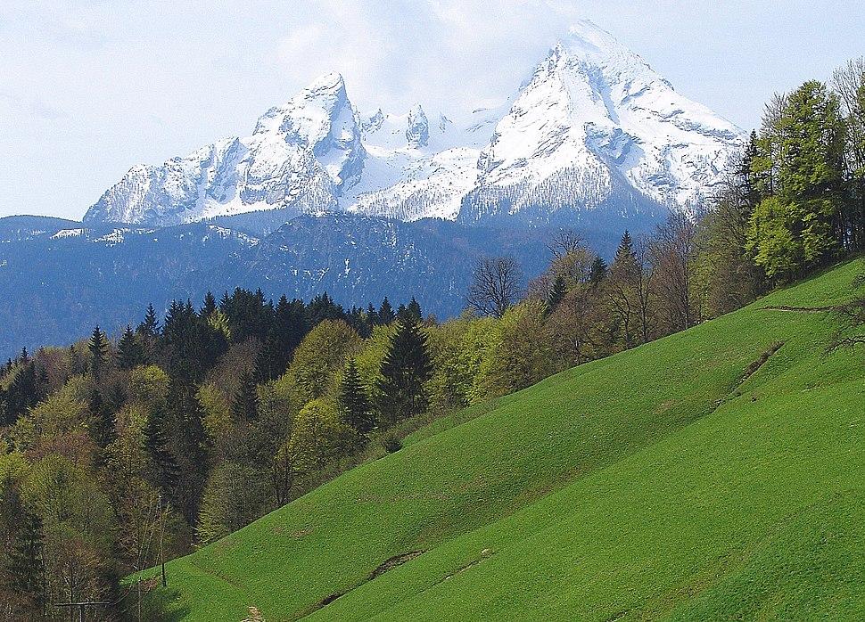 Watzmann bei Berchtesgaden, Germany