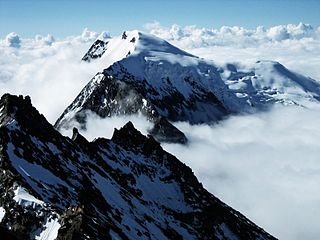 mountain in the Pennine Alps