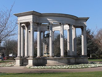 Welsh National War Memorial - Image: Welsh National War Memorial