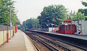 West Dulwich railway station - Image: West Dulwich station geograph 3422584 by Ben Brooksbank