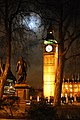 Westminster Clock Tower at night - geograph.org.uk - 429800.jpg