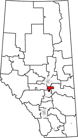 Wetaskiwin-Camrose - 2004 boundaries