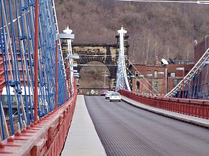 Wheeling Suspension Bridge Wheeling West Virginia