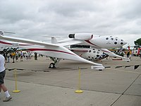 Spaceshipone, putnički svemirski avion