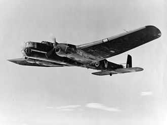 Besselsleigh - Armstrong Whitworth Whitley V aircraft similar to T4337 which crashed at Great Park Farm