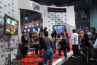 Wicked Pictures booth at AVN Adult Entertainment Expo 2009.jpg