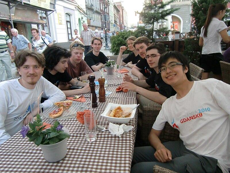 File:Wiki-train Poznan dinner.jpg