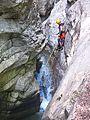 WikiProjekt Landstreicher Starzlachklamm Canyoning 05.jpg