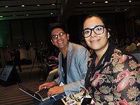 Wikimanía 2015 - Day 4 - Luis von Ahn conference - LMM (1).jpg