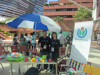 Wikimania 2013 - Day 1 - ovedc - 19.JPG
