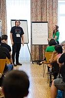 Wikimedia Hackathon Vienna 2017-05-19 Mentoring Program Introduction 030.jpg