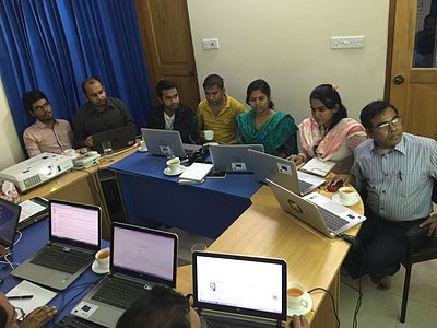 Wikipedia Workshop for Bangladesh NGOs Network for Radio and Communications staffs 04.jpg